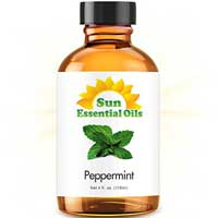 pepermint essential oil for nausea